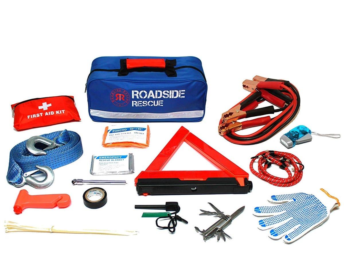 emergency car kit, car kit, first aid kit